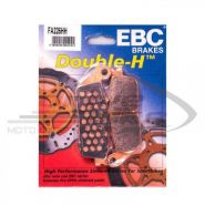 EBC Тормозные колодки FA226HH DOUBLE H Sintered (Honda) пердние